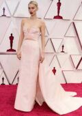 Vanessa Kirby attends the 93rd Annual Academy Awards at Union Station in Los Angeles