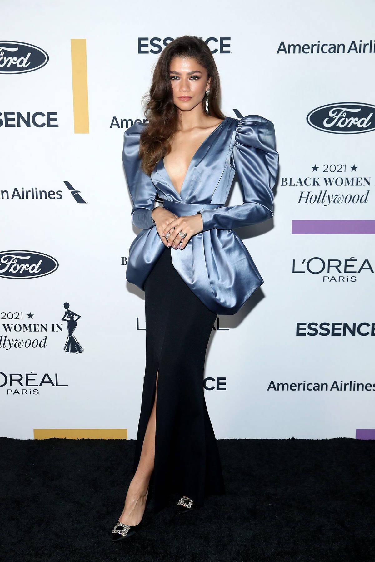 Zendaya attends ESSENCE Black Women in Hollywood Awards in Los Angeles