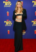 Addison Rae attends the 2021 MTV Movie & TV Awards at the Hollywood Palladium in Los Angeles