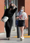 Angelina Jolie celebrates Mother's Day weekend shopping with her daughter Viviane in loss Feliz, California