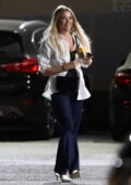 Ashley Benson seen hanging out with Evan Ross while out in Hollywood, California