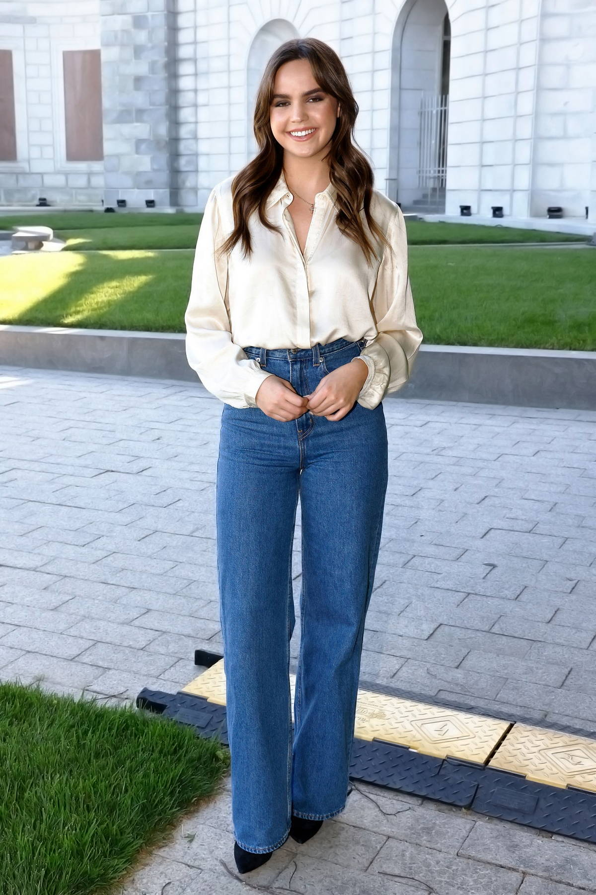 Bailee Madison makes an appearance at the Capital Concerts' 'National Memorial Day Concert' in Washington, D.C.