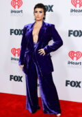 Demi Lovato attends the 2021 iHeartRadio Music Awards at The Dolby Theatre in Los Angeles