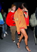 Hailey and Justin Bieber attend Drake's Billboard Music Awards after-party at Sofi Stadium in Inglewood, California