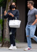 Irina Shayk grabs lunch with personal trainer Jason Walsh before stepping out with her daughter in New York City
