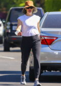 Jennifer Garner keeps it casual as she steps out for a solo walk in Pacific Palisades, California