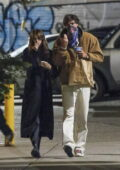 Kaia Gerber and Jacob Elordi enjoy their date night with some ice cream a romantic stroll in New York City