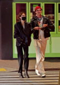 Kaia Gerber steps out for a late-night date with boyfriend Jacob Elordi in Los Angeles