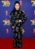 Lana Condor attends the 2021 MTV Movie & TV Awards at the Hollywood Palladium in Los Angeles