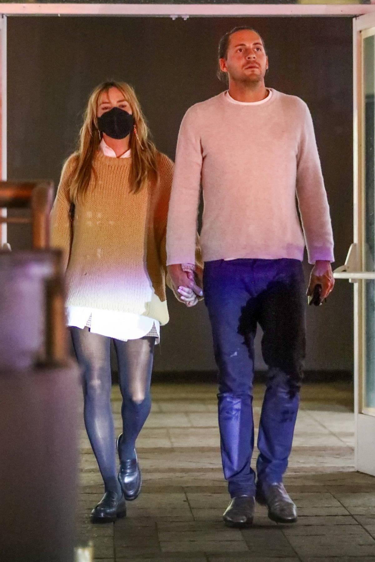 Margot Robbie grabs Sushi dinner with husband Tom Ackerley in Studio City, California
