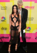 Megan Fox and Machine Gun Kelly attend the 2021 Billboard Music Awards at Microsoft Theater in Los Angeles