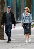 Naomi Watts and Billy Crudup enjoy a walk around Manhattan's Downtown area in New York City