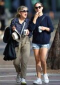Natalie Portman enjoys some downtime with her mother in Sydney, Australia