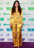 Olivia Munn attends Global Citizen Vax Live: The Concert to Reunite the World at SoFi Stadium in Inglewood, California
