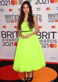 Olivia Rodrigo attends The BRIT Awards 2021 at The O2 Arena in London, UK
