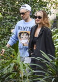 Rita Ora and Taika Waititi head out to a lunch at Chiswick Woollahra in Sydney, Australia