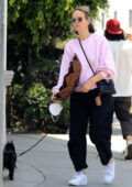Sarah Paulson keeps cozy in sweats while running errands with a friend in Los Angeles