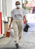 Sofia Richie dons comfy clothes while picking up some Avène products at her dermatologist in Beverly Hills, California