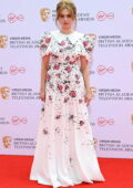 Aimee Lou Wood attends the Virgin Media British Academy Television Awards 2021 at Television Centre in London, UK