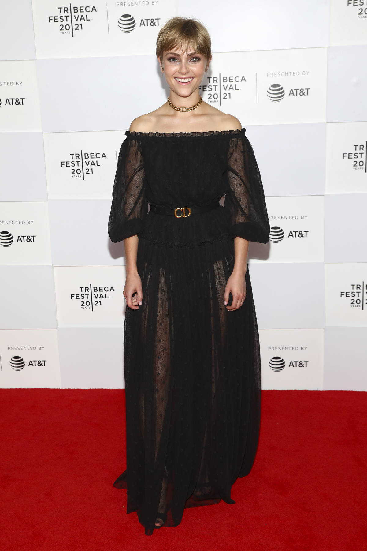 AnnaSophia Robb attends the Premiere of Dr. Death during the 2021 Tribeca Film Festival in New York City
