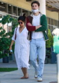 Camila Cabello and Shawn Mendes step out together to pick up dinner in West Hollywood, California