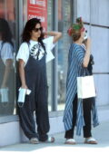 Camila Cabello steps out for a day of shopping with her mom in Beverly Hills, California