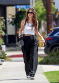 Camila Morrone looks radiant while making a coffee run in West Hollywood, California