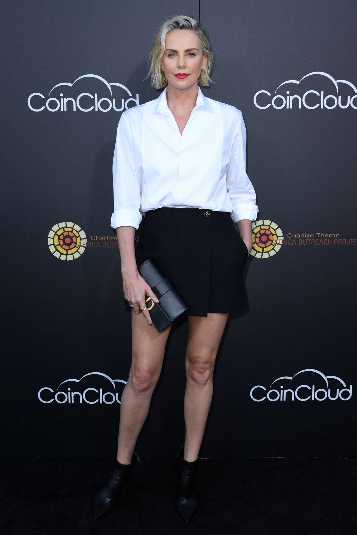 Charlize Theron attends the CTAOP's Night Out 2021: Fast And Furious in Universal City, California