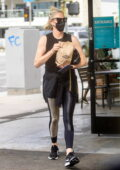 Charlize Theron takes her daughter to Fatburger for some takeout in Sherman Oaks, California