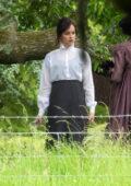 Dakota Johnson spotted on the set of 'Persuasion' in Salisbury, UK