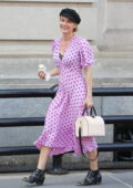 Diane Kruger is all smiles as she enjoys an ice cream while out in New York City