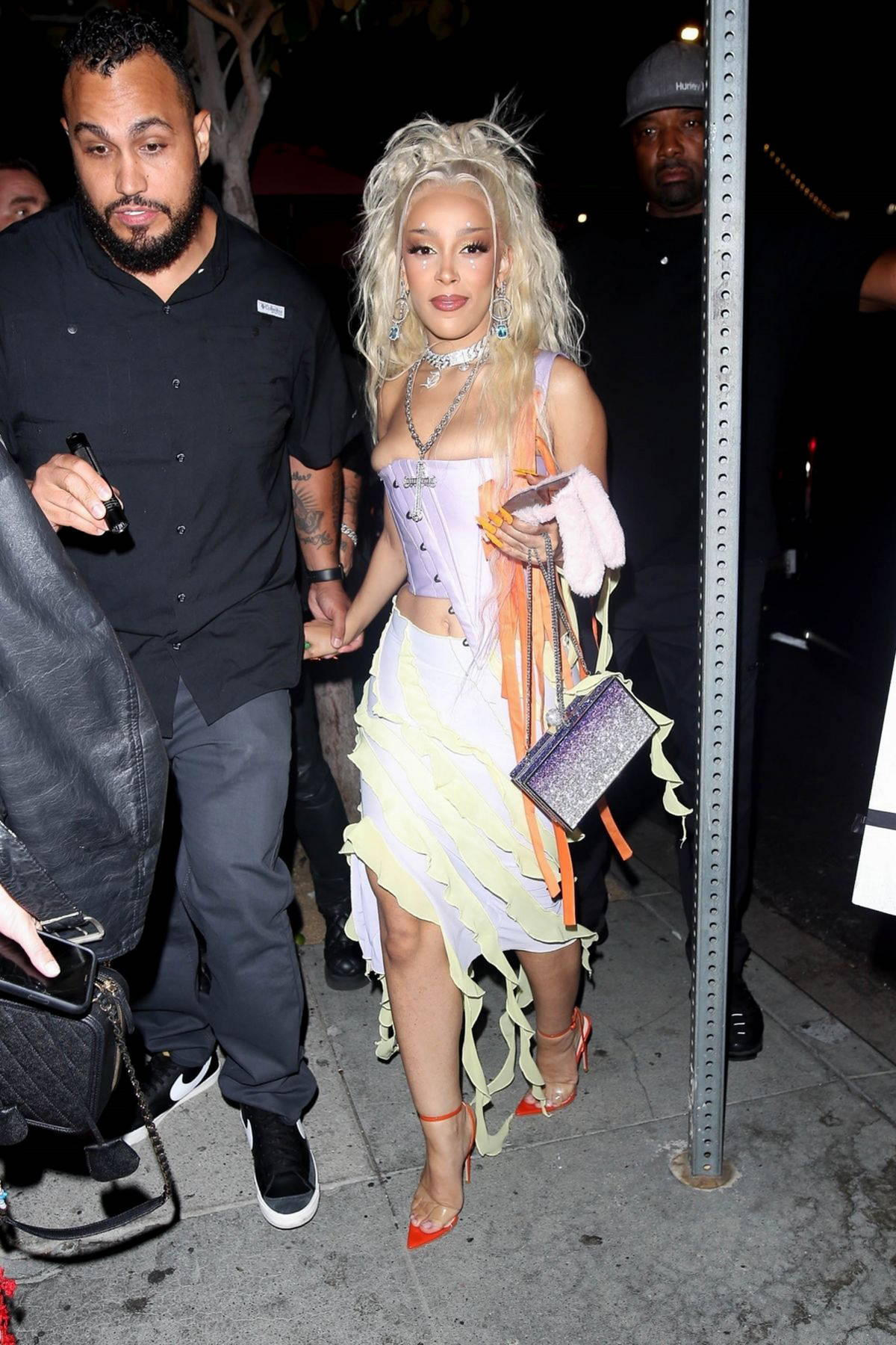 Doja Cat attends her 'Planet Her' album release party in Los Angeles
