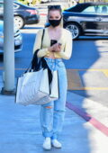 Dove Cameron goes for some shopping at 'Alice + Olivia' in West Hollywood, California
