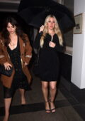 Ellie Goulding seen leaving the Petersham Nurseries x Lily Lewis: Safe Spaces Private View and Dinner in London, UK