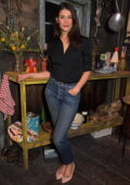 Gemma Arterton attends the opening of 'Walden' at the Harold Pinter Theatre in London, UK