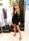 Kara Del Toro attends Boohoo x Amelia Gray launch event in Beverly Hills, California