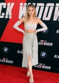 Kelli Berglund attends Marvel Studios' 'Black Widow' Fan Event at the El Capitan Theatre in Los Angeles