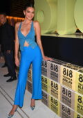 Kendall Jenner attends the Resorts World Las Vegas Grand Opening in Las Vegas, Nevada