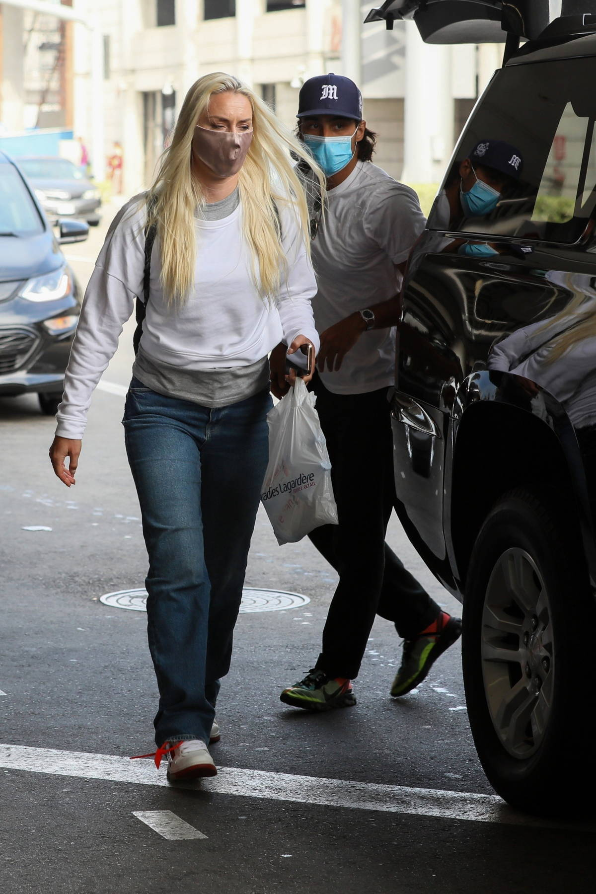 Lindsey Vonn and new boyfriend Diego Osorio step out together in Los Angeles