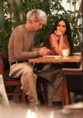 Megan Fox and Machine Gun Kelly seen enjoying a romantic dinner at Matsuhisa restaurant in Beverly Hills, California
