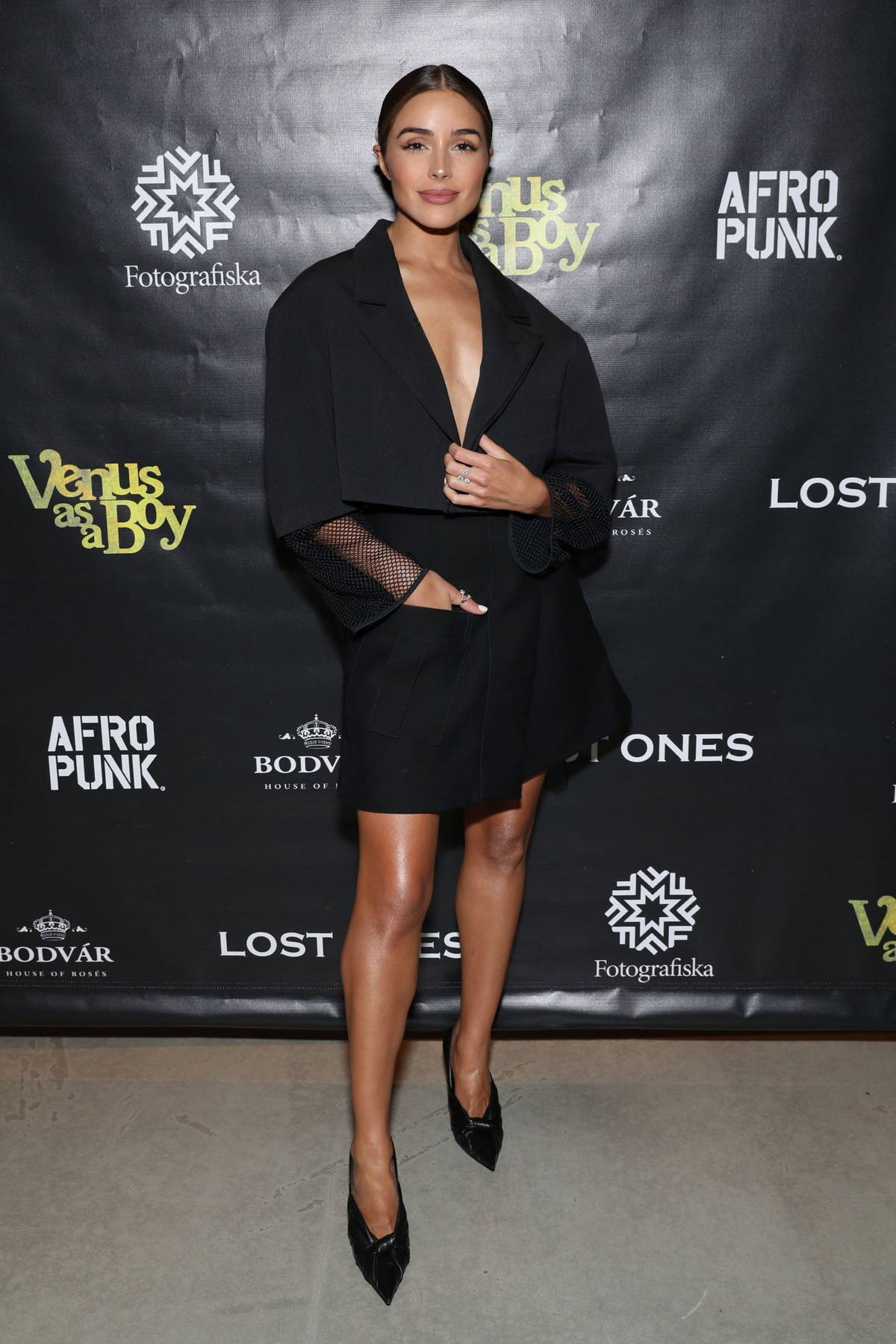 Olivia Culpo attends the World Premiere of 'Venus as a Boy' during the 2021 Tribeca Film Festival in New York City
