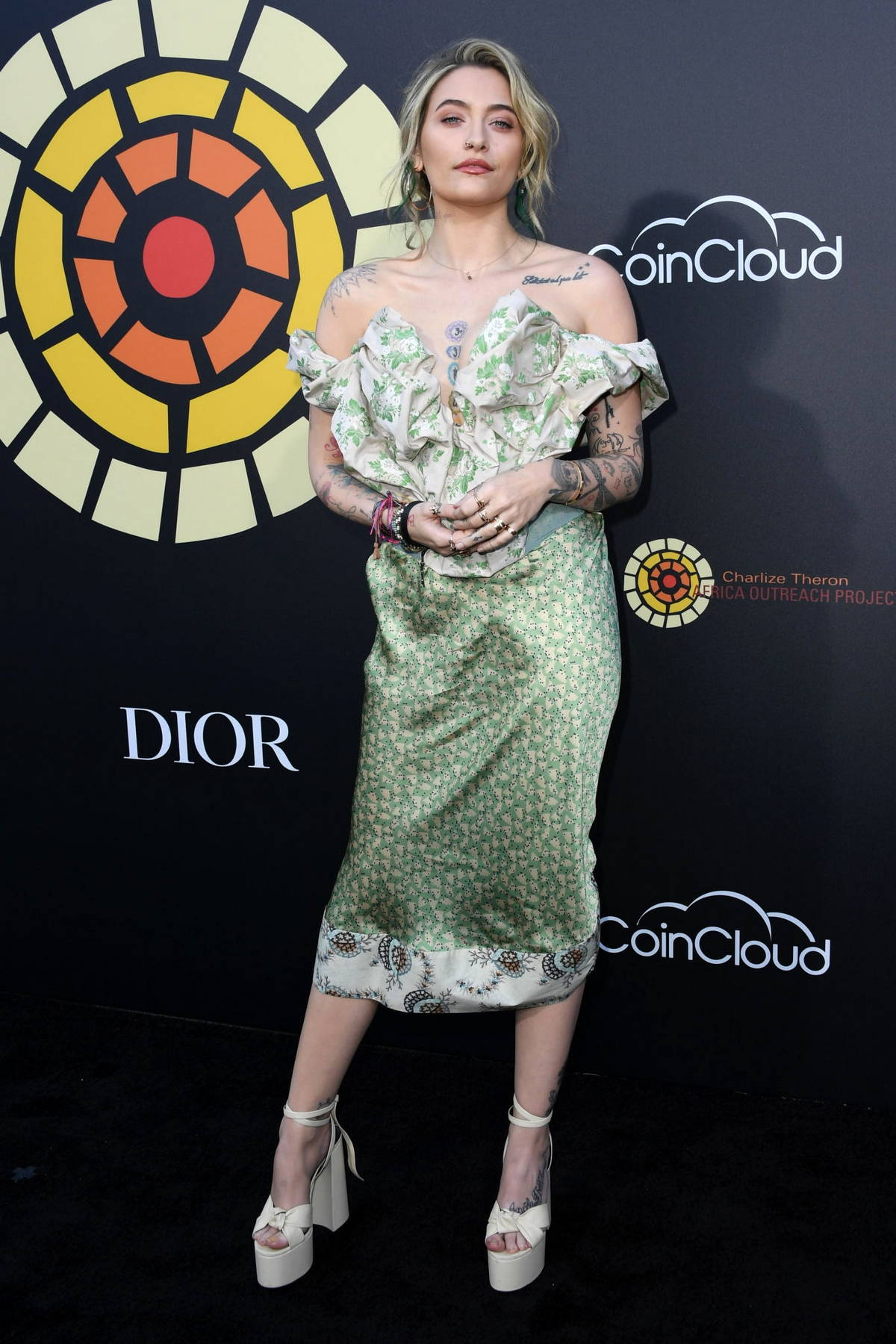 Paris Jackson attends the CTAOP's Night Out 2021: Fast And Furious in Universal City, California
