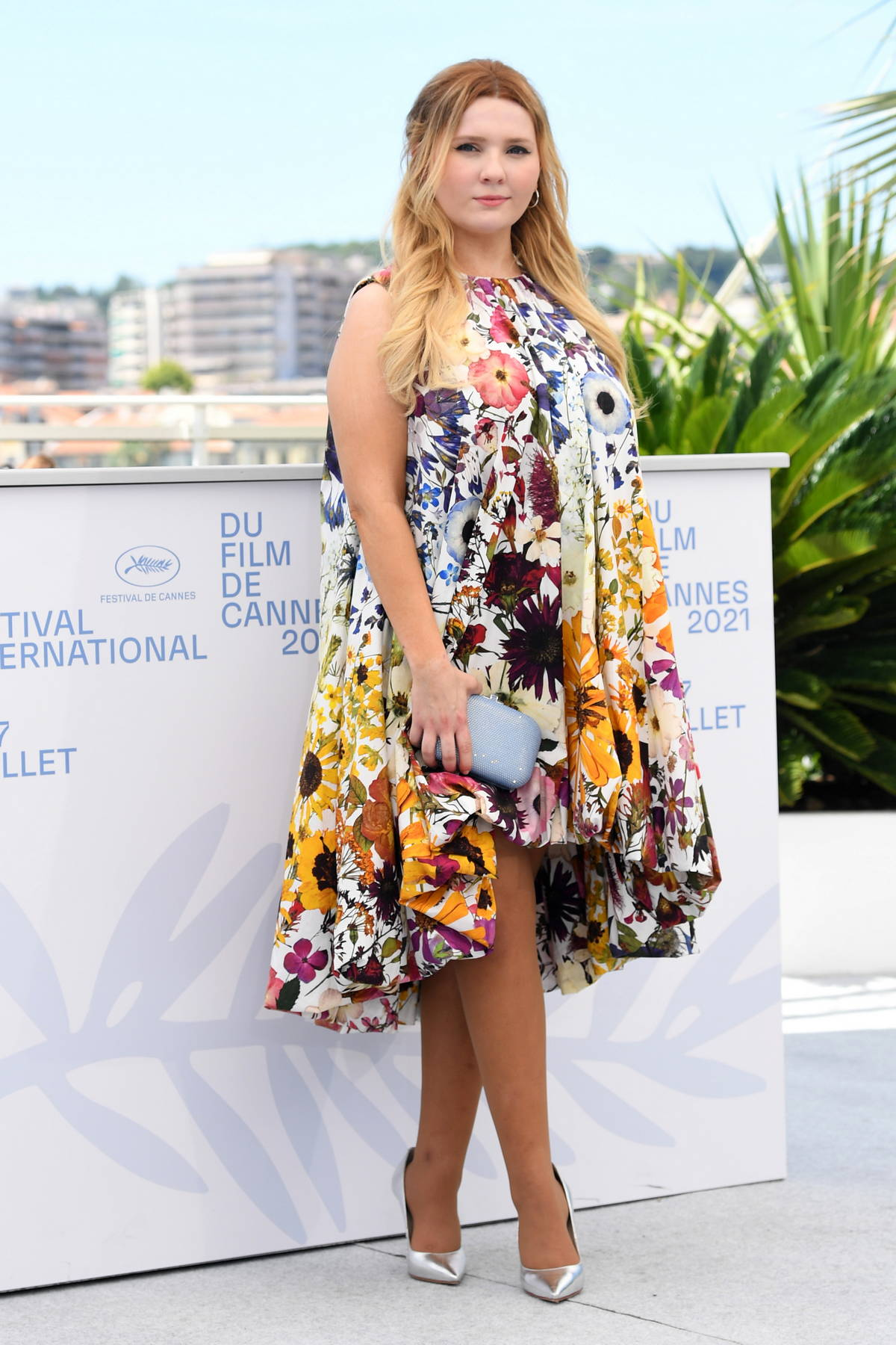 Abigail Breslin attends Stillwater photocall and press conference during the 74th annual Cannes Film Festival in Cannes, France
