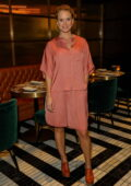 Alice Eve attends 'The Pattern' dinner hosted by founder Lisa Donovan at Sofitel London St James in London, UK