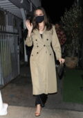 Angelina Jolie and The Weeknd keep a low profile after enjoying dinner together at Giorgio Baldi in Santa Monica, California