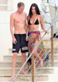 Bella Hadid shows off her incredible bikini body while enjoying the sun with new boyfriend Marc Kalman in Antibes, France