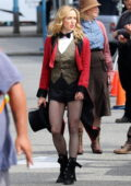 Caity Lotz spotted while filming 'Legends of Tomorrow' in Vancouver, Canada