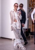 Candice Swanepoel spotted at the Martinez Hotel during the 74th Cannes Film Festival in Cannes, France