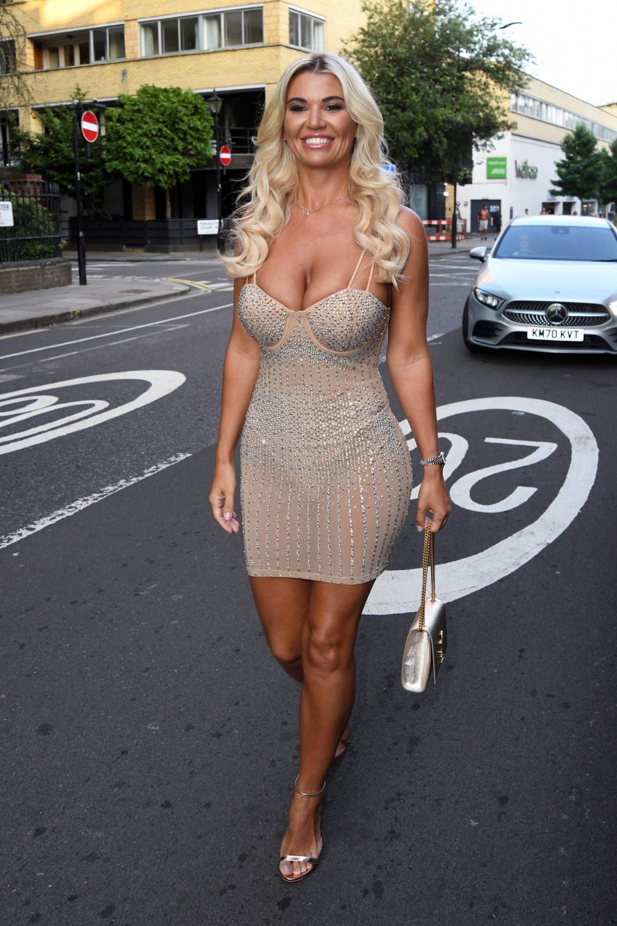 Christine McGuinness attends the National Reality TV Awards and Afterparty in London, UK