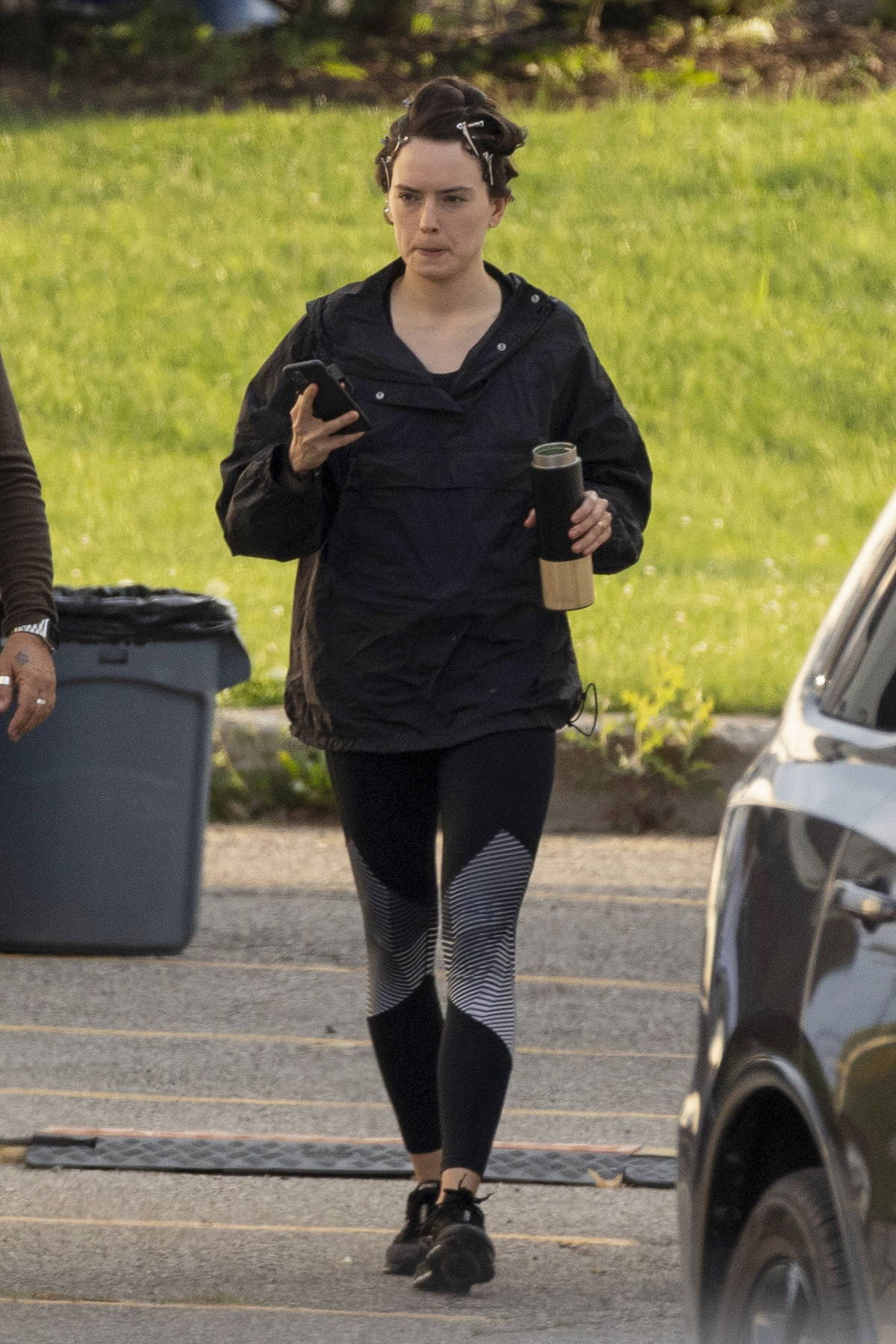 Daisy Ridley spotted on set of 'The Marsh King's Daughter' in Toronto, Canada